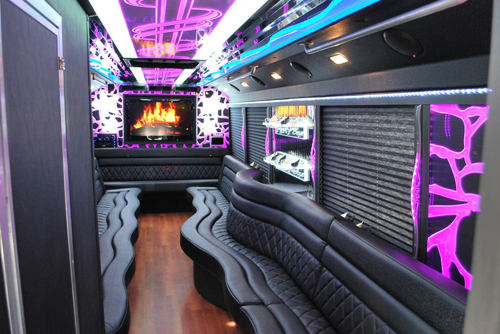 long island limo party bus