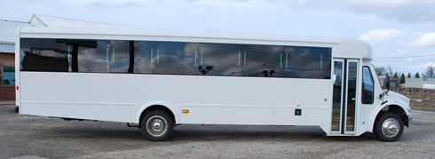 new york limo buses